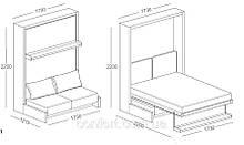 Мебель-трансформер Clei NUOVOLIOLÀ 10