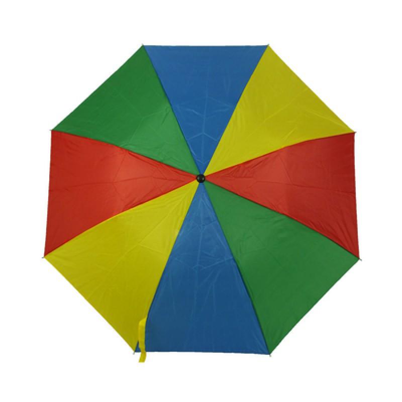 Зонт складаний кольоровий