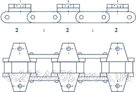 Ланцюг ТРД-38-43-12,0-II-6-6-215     (8,440м.)