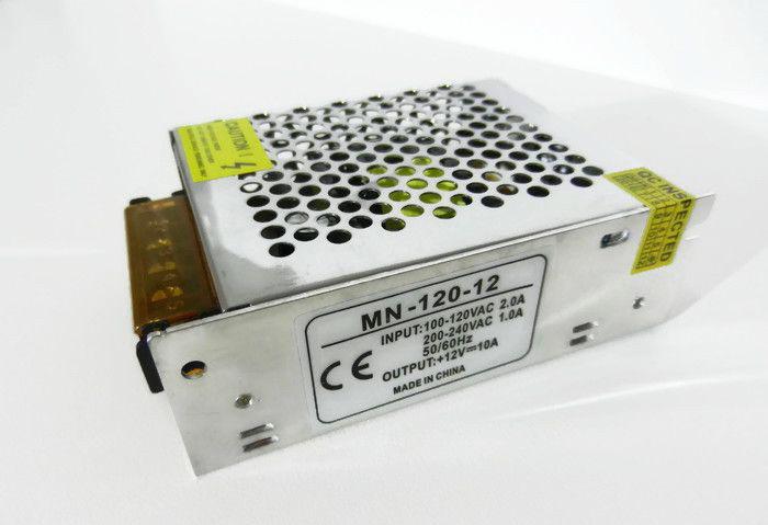 Блок питания для светодиодной ленты 12в 10А 120вт 10А LEDLIGHT IP20 compact