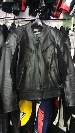 Мотокуртка бу TUOZO кожа, фото 2