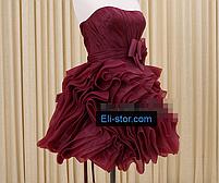 Платье - розы короткое, фото 3