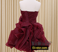 Платье - розы короткое, фото 4