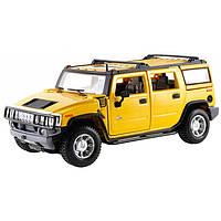 MAISTOАвтомодель (1:27) 2003 Hummer H2 SUV жёлтый, фото 1