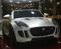 Новинка машины ХИТ лицензионный Jaguar DMD 218, серебро