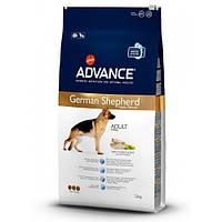 Advance  German Shepherd 12 кг- корм для немецкой овчарки c индейкой