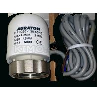 Сервопривод на 220В, нормально закрытый Auraton-TE230 M30