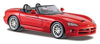 MAISTO Автомодель (1:24) Dodge Viper SRT-10, красный