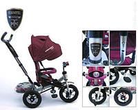 Трехколесный велосипед-коляска Azimut Crosser T-400 НАДУВНЫЕ КОЛЕСА
