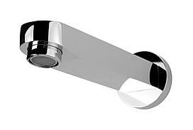 CASCADA, излив для ванны встроенный настенный, 194 мм