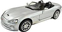 MAISTOАвтомодель (1:24) Dodge Viper SRT-10 серебристый