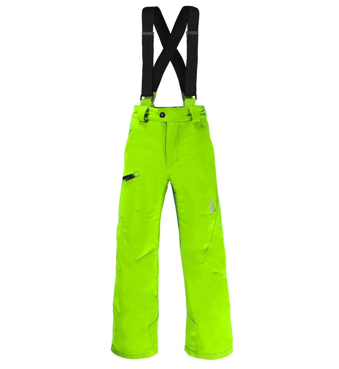Горнолыжные брюки детские Spyder Boys propulsion bryte green (MD)