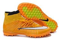 Футбольные сороконожки Nike Mercurial Superfly TF Laser Orange/White/Black