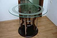 Стол обеденный стеклянный LB 128 (Лотос-М)