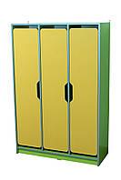 Шкаф детский 3-местный с фигурными дверями