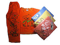 Пижама для девочек махровая с начесом размеры 134.146,152.152.158 ,164 арт. 972