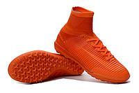 Футбольные сороконожки Nike MercurialX Proximo II TF Total Orange/Bright Citrus/Hyper Crimson