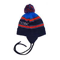 Зимняя шапка для мальчика Nano 267 TC F16. Размер 12/24 мес  -  7/12.