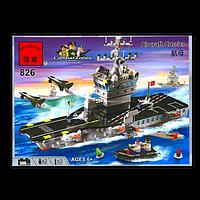 """Конструктор Brick """"Авианосец"""" 508 деталей"""