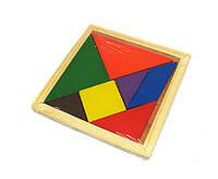 Игра головоломка Танграм из дерева