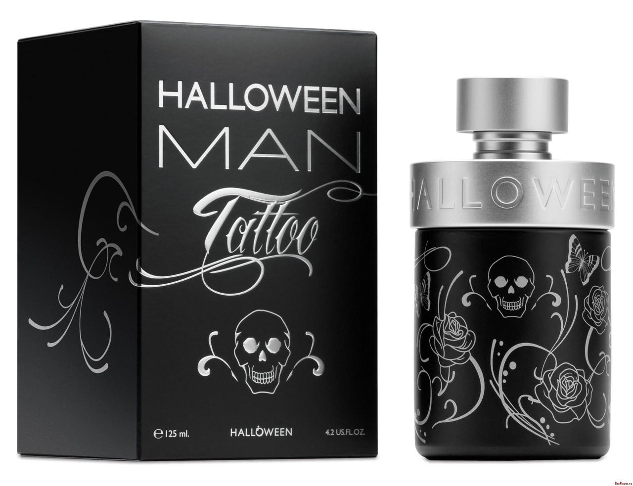 J. Del Pozo  Halloween Tattoo Man 50ml мужская туалетная вода (оригинал)