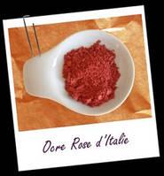 Компоненты для минеральной косметики:Краситель OCRE ROSE (роза) 3гр.