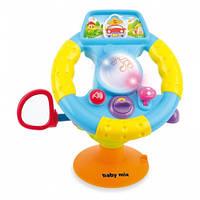 Музыкальная игрушка Руль Alexis-Babymix PL308517 (арт.18008)