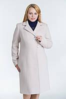 Зимнее женское пальто №22 р.46-54 беж