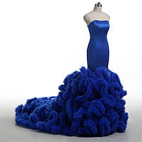Розкішне довге плаття силует русалка, фото 2
