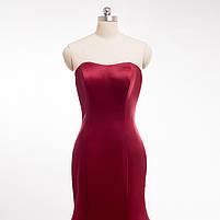 Розкішне довге плаття силует русалка, фото 3