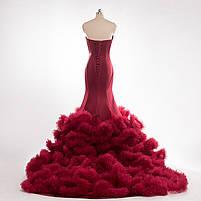 Розкішне довге плаття силует русалка, фото 4
