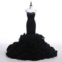 Розкішне довге плаття силует русалка, фото 6