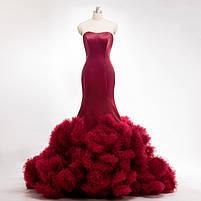 Розкішне довге плаття силует русалка, фото 8