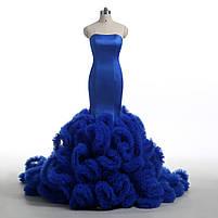 Розкішне довге плаття силует русалка, фото 10