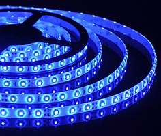 Лента светодиод.RIGHT HAUSER 14,4W/м SMD 5050  IP54 голубая HN-121034