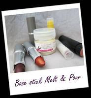 Косметические ингредиенты:BASE STICK MELT & POUR Основа расплавь и залей 5 гр.