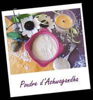 Косметические ингредиенты:POUDRE AYURVDIQUE D'ASHWAGANDHA BIO (Ашвагандха) 10гр.