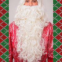 Борода Деда Мороза эконом