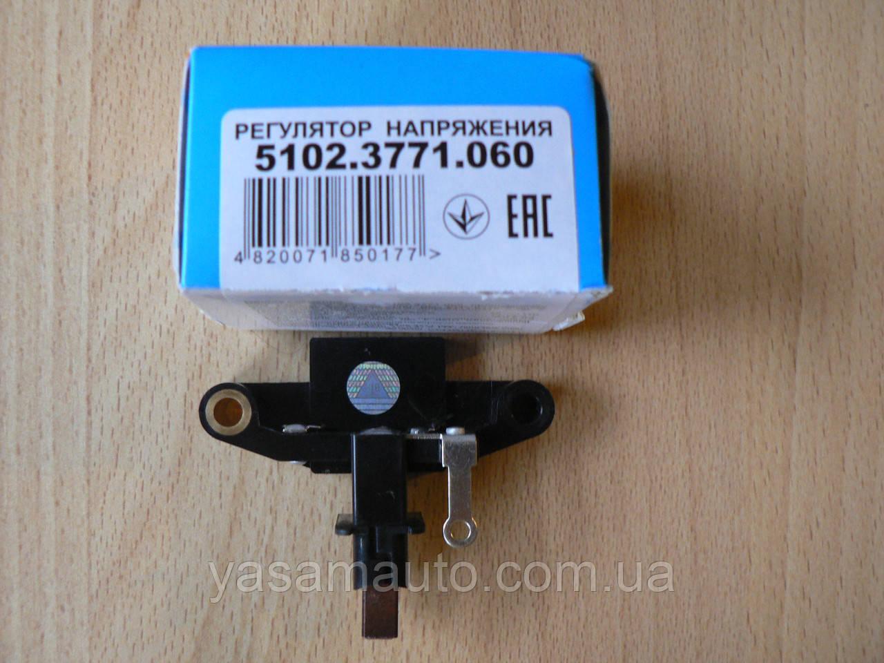 Регулятор напряжения 5102.3771.060 ВТН ВАЗ 2108 2109 2110 i инжектор 2111 - 2115 с генератором 5102.3771 Прамо