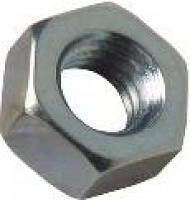 Гайка шестигранная М8*1 с метрической мелкой резьбой  DIN 971 , ISO 8673, ISO 8674.