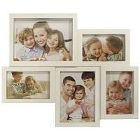 Мультирамка для фото Angel Gifts 5 в 1 44х37х2,5см BIN-112218