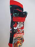 Детские махровые носки с новогодним принтом., фото 4