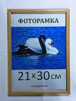 Фоторамка ,пластиковая, А4, 21х30, рамка , для фото, дипломов, сертификатов, грамот, картин, 167-603
