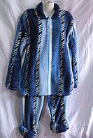 Пижама мужская махра Батал оптом