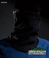 Черный флисовый Бафф Staff black