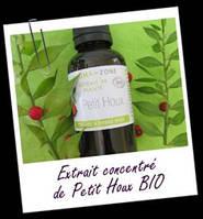 Экстракты, СО2  :EXTRAIT DE PLANTE PETIT HOUX (Экстракт иглицы) 5мл.