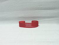 Лента из мешковины, Красная, 5см