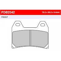 Тормозные колодки Ferodo FDB2042P