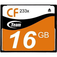 Карта памяти Team 16GB Compact Flash 233x (TCF16G23301)