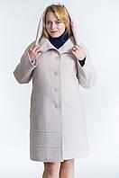 Пальто из кашемира №21 р. 50;52;54 бежевый